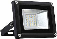 Foco LED de 20W, Sararoom 1600LM Proyector Led
