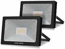 Foco LED de 30 W, 3200 lm, lote de 2, iluminación