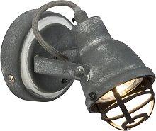 Foco LED de pared Bente con diseño industrial
