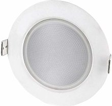 Foco LED empotrable, 10 W,