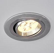 FocoLED empotrableTjark redondo de aluminio