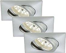Foco LED empotrable y giratorio, no necesita