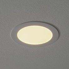 Foco LED empotrado Fueva Connect blanco, 17 cm