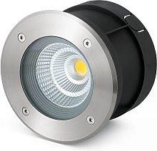 Foco LED empotrado Suria-12, ángulo proyección