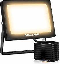 Foco LED exterior de 54 W, muy brillante, 5500 lm,