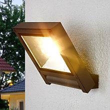 Foco LED gris oscuro Maico para exteriores