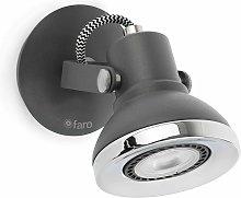 Foco LED gris RING