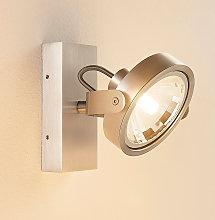 Foco LED Lieven de color aluminio