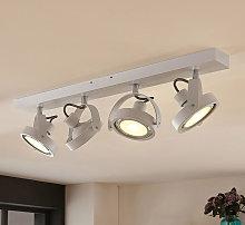Foco LED Munin, atenuable, blanco, 4 luces