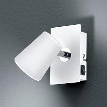 Foco LED Narcos blanco con cabezal orientable