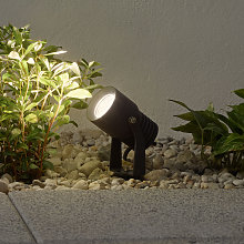 Foco LED para exterior Jon con cabezal móvil