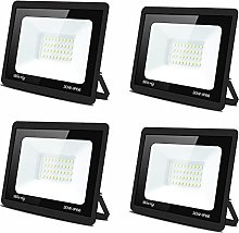 Foco LED para exteriores de 100W,Blivrig Lámpara