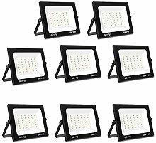 Foco LED para exteriores de 30W, Blivrig 3000lm