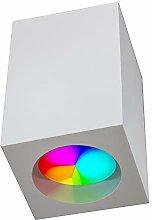 Foco LED plafón yeso luz techo 8 W GU10 RGB