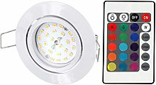 Foco LED RGB Slim Spot 230 V orientable – con