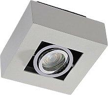 Foco LED Vince rectangular, color blanco