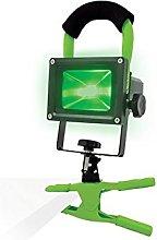 Foco/linterna de trabajo LED Luz Verde para