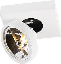 Foco moderno blanco orientable - GA 1