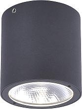 Foco moderno gris LED IP54 - DOMI