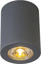 Foco moderno gris - TUBA 2