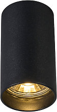 Foco moderno negro - TUBA 1
