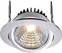 Foco moderno redondo LED spot 12 W empotrado 95 mm
