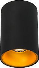 Foco negro/naranja brillante - DEEP