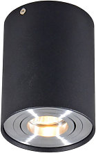 Foco negro orientable - RONDOO 1 UP