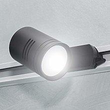 Foco para riel track monofásico lámpara LED 8 W
