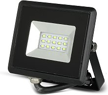 Foco Proyector Led 10w Smd Serie E Cuerpo Negro