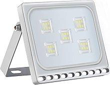 Foco proyector LED 30W para exteriores, resistente