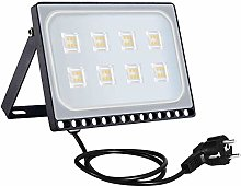 Foco Proyector Led 50W, Sararoom 4000LM Regulable