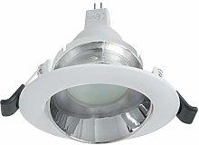 Foco redondo LED de 7 W para empotrar en el techo,