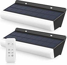 Foco Solar de Seguridad 450LM, MEIKEE Apliques