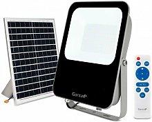 Foco solar exterior con mando 6500K IP65 Potencia