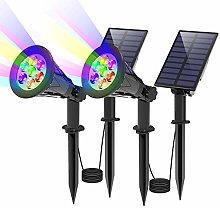 Foco Solar led para Exterior, T-SUN Proyector de