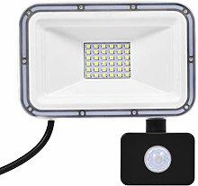 Focos de Inundación LED de 30W con Sensor de