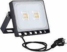 Focos LED 10W, Sararoom 800LM Foco Proyector Led,