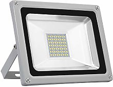Focos LED exterior 30W, Sararoom 2400LM 6500K