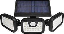 Focos LED Exterior Solares con Sensor de
