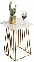 Folding table Nan Mesa Auxiliar de mármol -