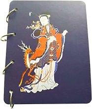 Folleto Cuaderno Carpeta de anillas de hierro Bloc