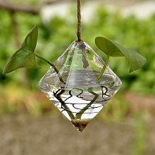 Forma planta hidroponica de escritorio florero de
