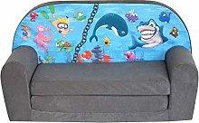 Fortisline Ocean 2 W386_11 - Sofá infantil para