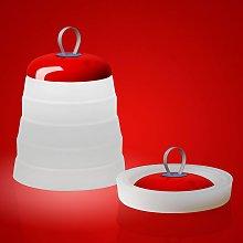 Foscarini Cri Cri lámpara decorativa LED, rojo