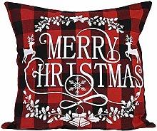FossenHyC Fundas Cojines de Navidad Estampados de