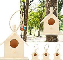 Fournyaa Casa para pájaros, comedero para