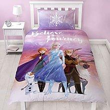 Frozen 2 Disney - Funda de edredón Individual de
