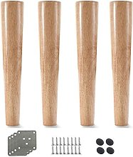 FTYYSWL 4 patas de mesa de muebles de madera