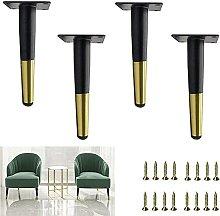FTYYSWL 4 patas de soporte para muebles, patas de